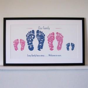 Footprint frame