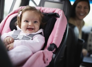 Safety seats for infants